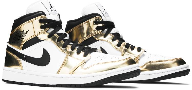 Air Jordan 1 Mid SE 'Metallic Gold'