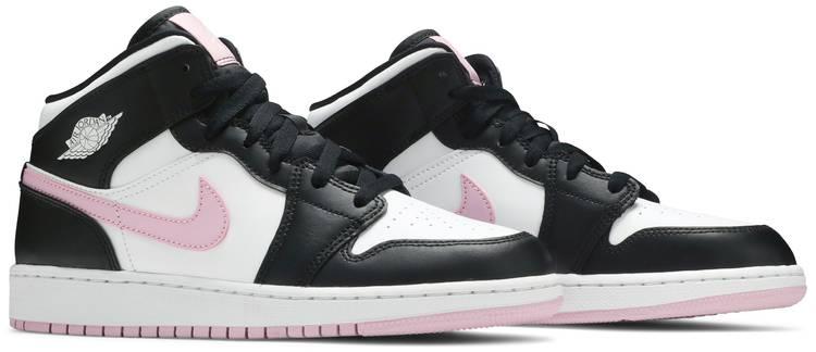 Air Jordan 1 Mid GS 'White Light Arctic Pink'