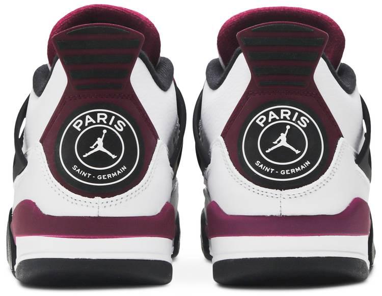 Paris Saint-Germain x Air Jordan 4 Retro 'Bordeaux'