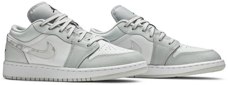 Air Jordan 1 Low SE GS 'White Camo'