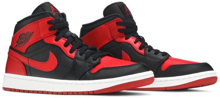 Air Jordan 1 Mid 'Banned' - Air Jordan - 554724 074 | GOAT