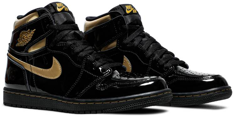 Air Jordan 1 Retro High OG 'Black Metallic Gold'