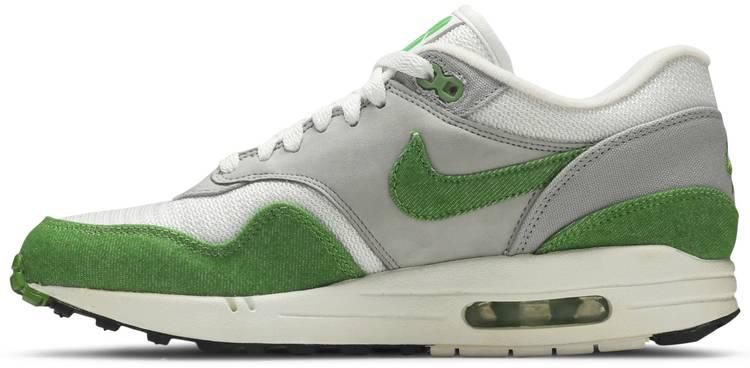 Patta x Air Max 1 Premium 'Chlorophyll' - Nike - 366379 100   GOAT