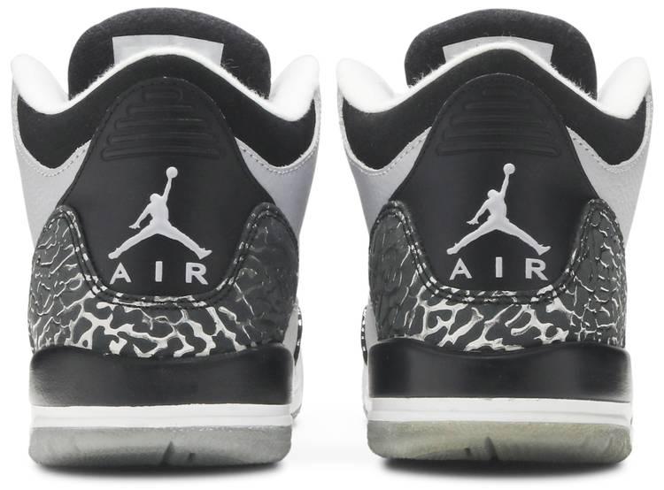 Air Jordan 3 Retro BG 'Wolf Grey'