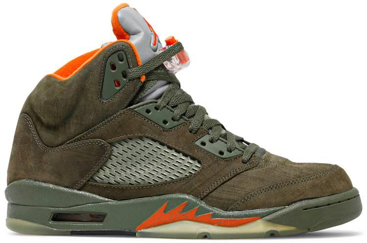 Air Jordan 5 Retro LS 'Olive'