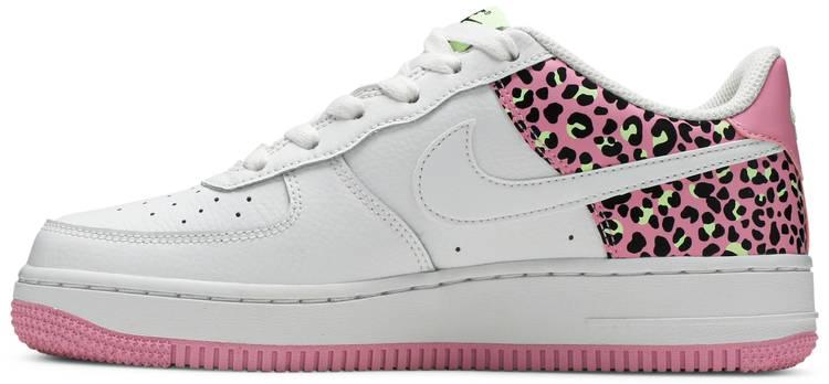 air force 1 donna leopardate rosa
