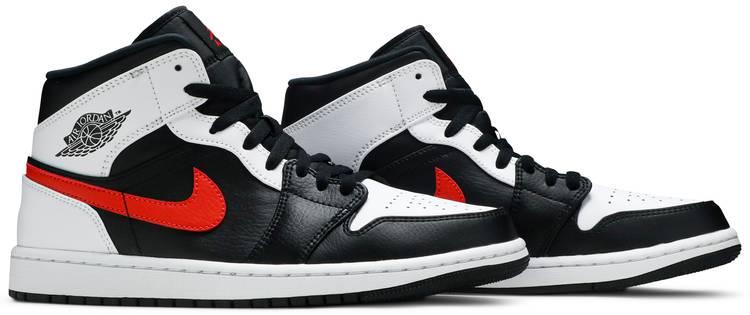 Air Jordan 1 Mid 'Chile Red'