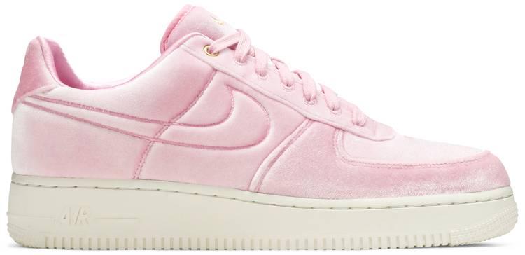 Air Force 1 Low '07 Premium 'Pink Velour' - Nike - AT4144 600 | GOAT
