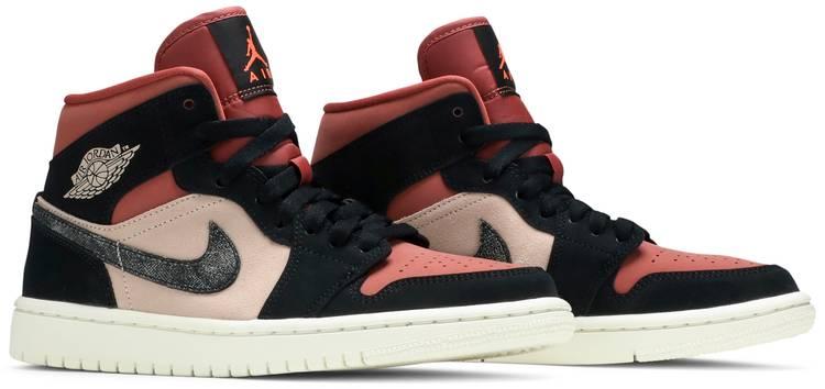 Wmns Air Jordan 1 Mid 'Canyon Rust' - Air Jordan - BQ6472 202 | GOAT