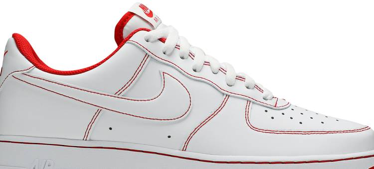 Air Force 1 '07 'Contrast Stitch - White University Red'