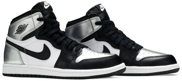Air Jordan 1 Retro High OG PS 'Silver Toe'