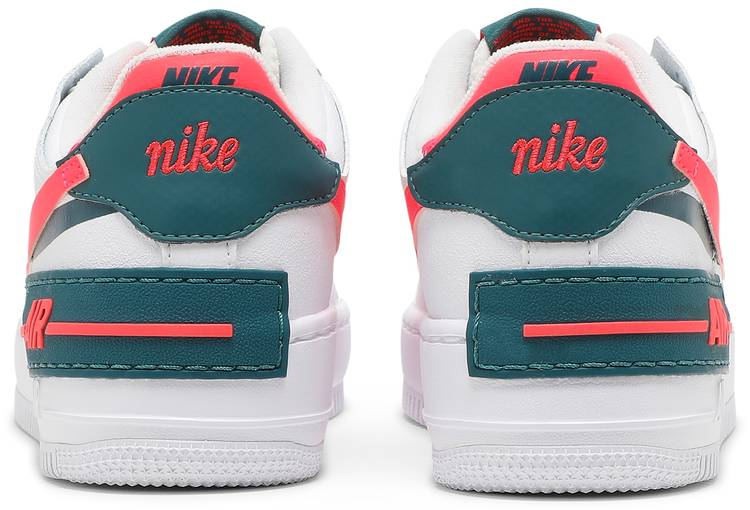Wmns Air Force 1 Shadow 'White Solar Red'