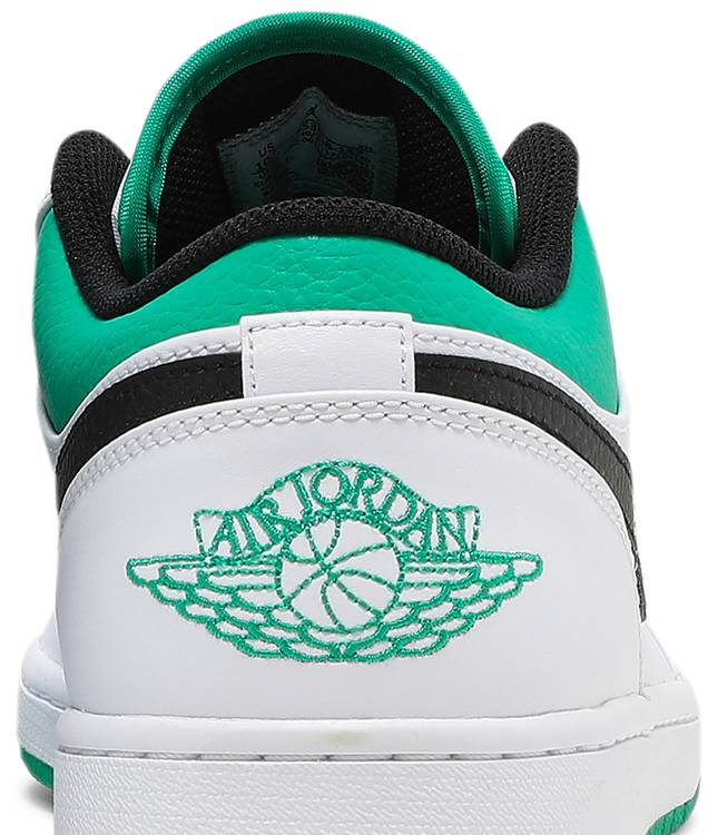 AIR JORDAN 1 LOW 'WHITE LUCKY GREEN'