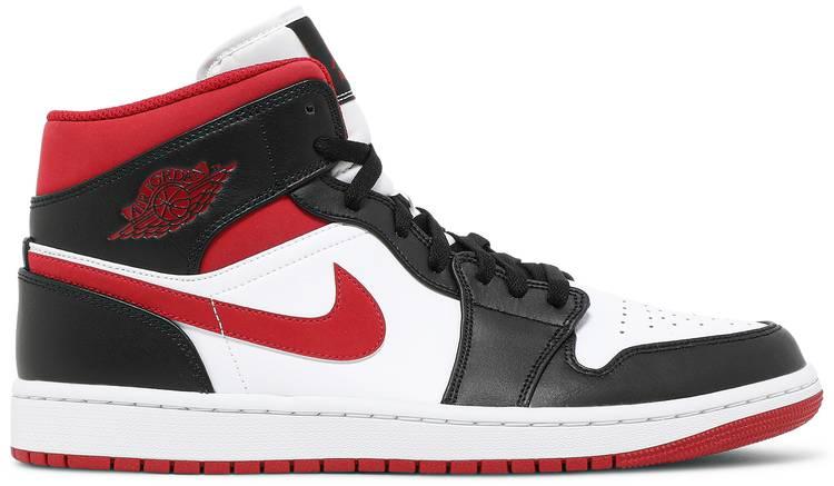 Air Jordan 1 Mid 'Black Gym Red'