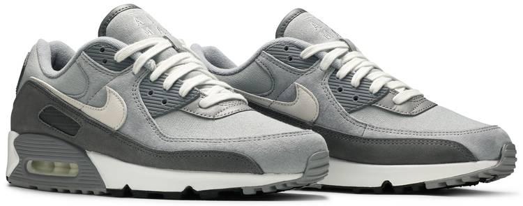 Air Max 90 Premium 'Light Smoke Grey' - Nike - DA1641 001 | GOAT