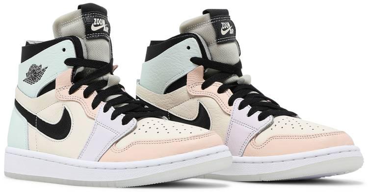 Wmns Air Jordan 1 High Zoom Comfort 'Easter' - Air Jordan - CT0979 ...