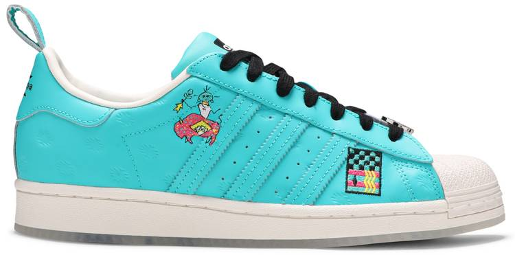 Arizona x Superstar 'Have an Iced Day - Teal White'