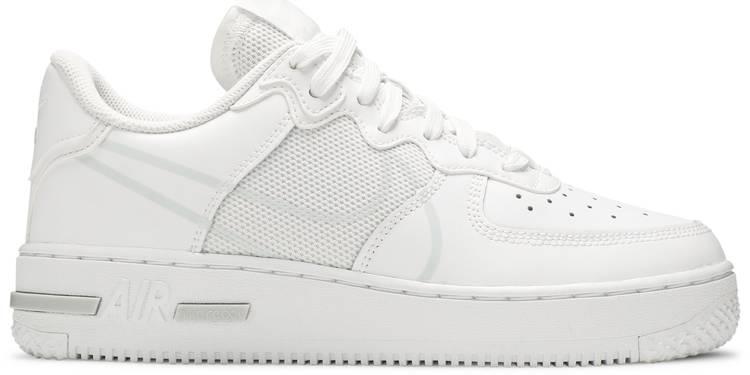 Air Force 1 React SU GS 'White'