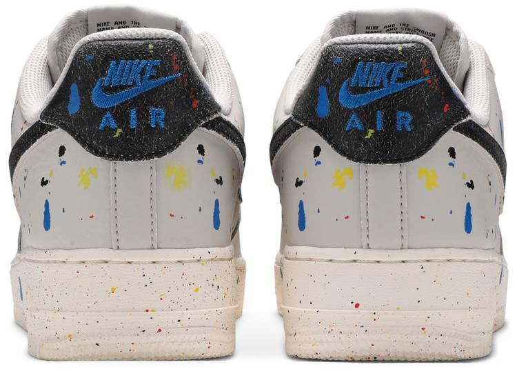 Air Force 1 '07 LV8 'Paint Splatter - Light Bone'
