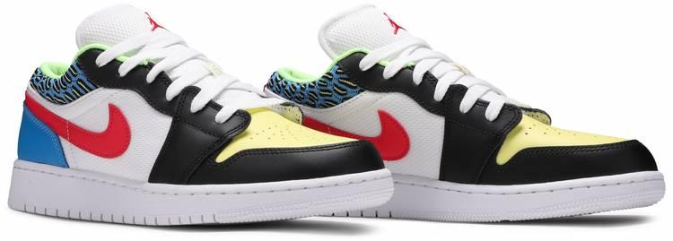 Air Jordan 1 Low GS 'Funky Patterns'