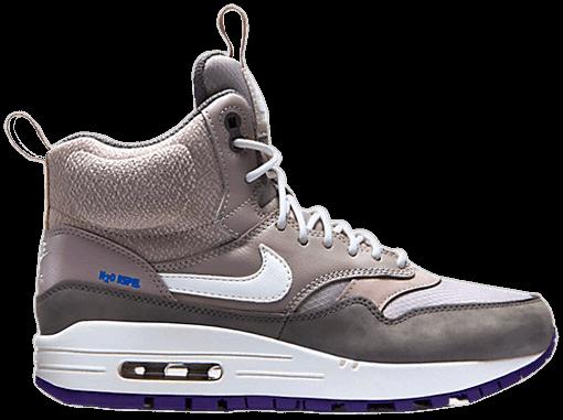 donde quiera recuerda Civil  Wmns Air Max 1 Mid Sneakerboot 'Orewood Brown' - Nike - 685267 002 | GOAT