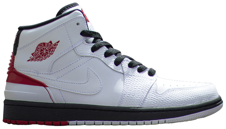 on feet images of release info on later Air Jordan 1 Retro 86 'White Gym Red'