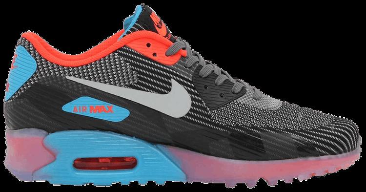 Nike Air Max 90 KJCRD ICE QS Dark GreyWolf Grey Black