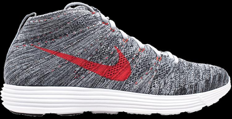Zapatos antideslizantes escribir Olla de crack  Lunar Flyknit Chukka 'Wolf Grey' - Nike - 554969 001 | GOAT