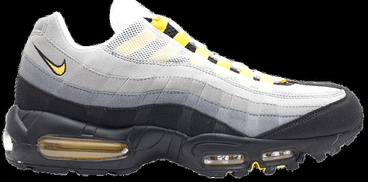 Air Max 95 Tour Yellow Grey Nike 609048 105 Goat