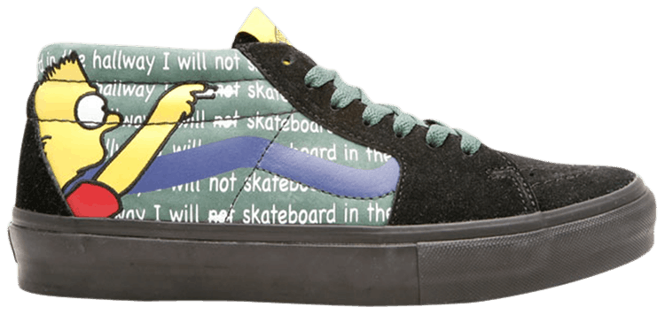 Stash X The Simpsons Movie X Sk8 Mid Lx Bart Vans 6520299080 Goat