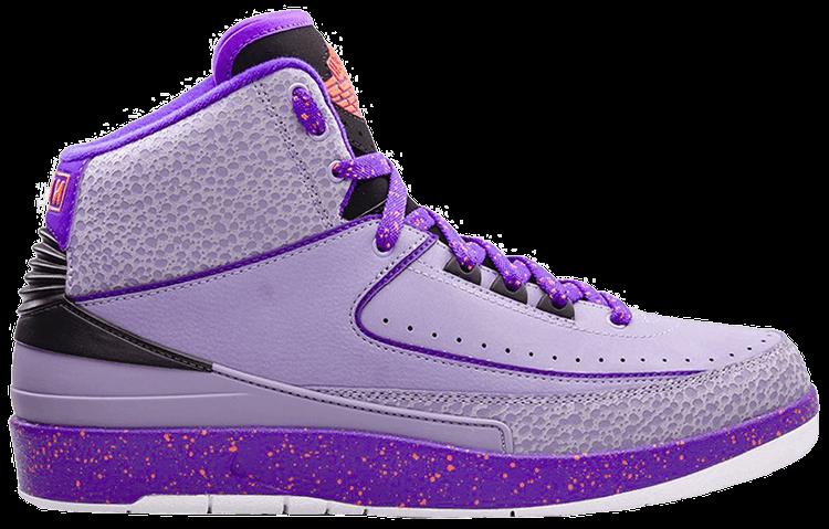 purple jordan 2