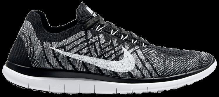 Potencial Fuente pétalo  Free 4.0 Flyknit 'Black' - Nike - 717075 001 | GOAT