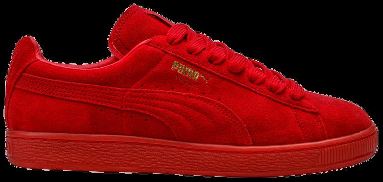 sneakers puma suede rosse
