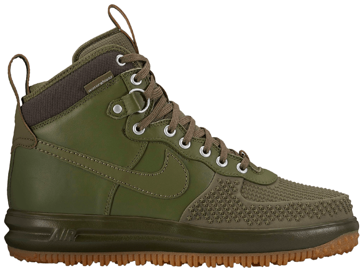 Nike Lunar Force 1 Duckboot shoes olive | WeAre Shop