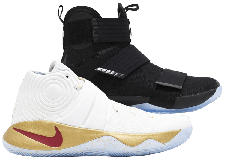 kyrie and lebron shoes