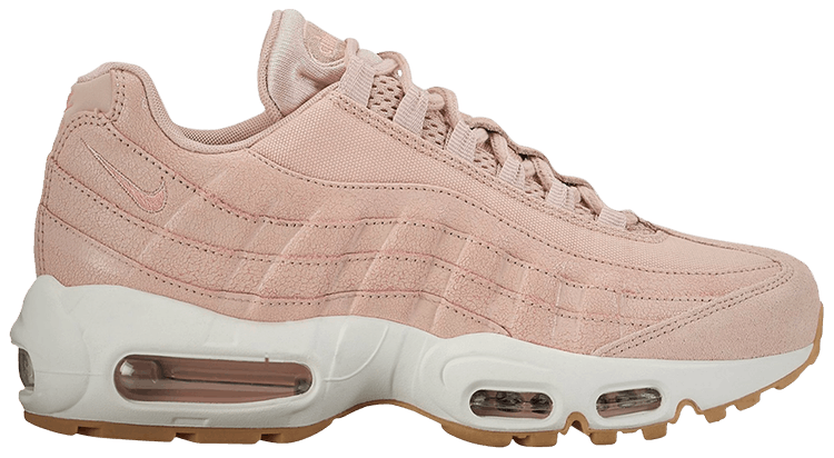 Wmns Air Max 95 Premium 'Pink Oxford' Nike 807443 600   GOAT