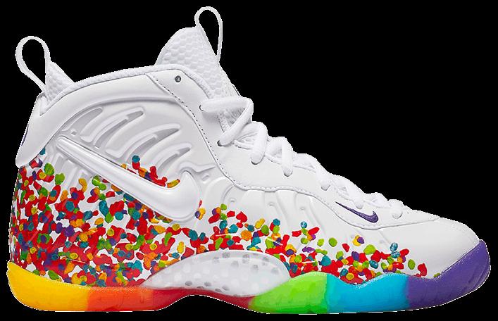 Little Posite Pro GS  Fruity Pebbles  - Nike - 644792 101  c3d14029ed53