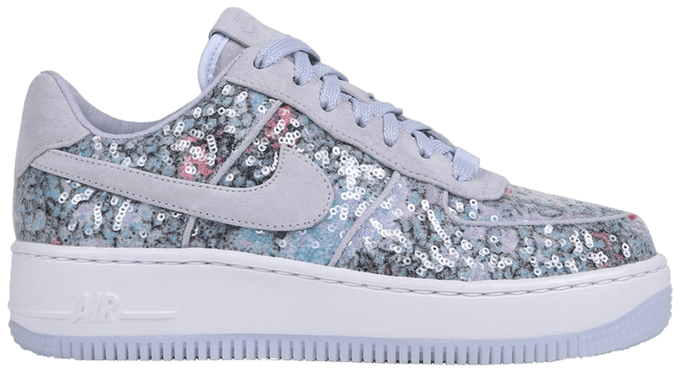 Wmns Air Force 1 Upstep Low 'Glass Slipper'