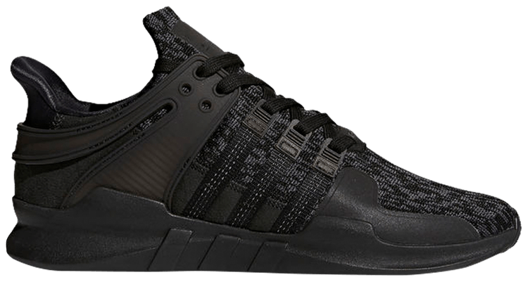 adidas originals eqt support adv trainers in black by 9589