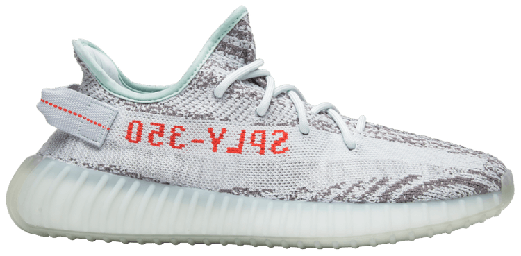 "UA High quality replica Adidas Yeezy boost 350 V2 ""blue tint"" colorway sneaker"
