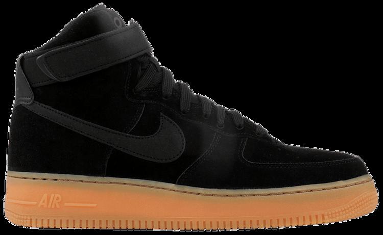 Air Force 1 High 07 Lv8 Suede Black Gum Nike Aa1118 001 Goat