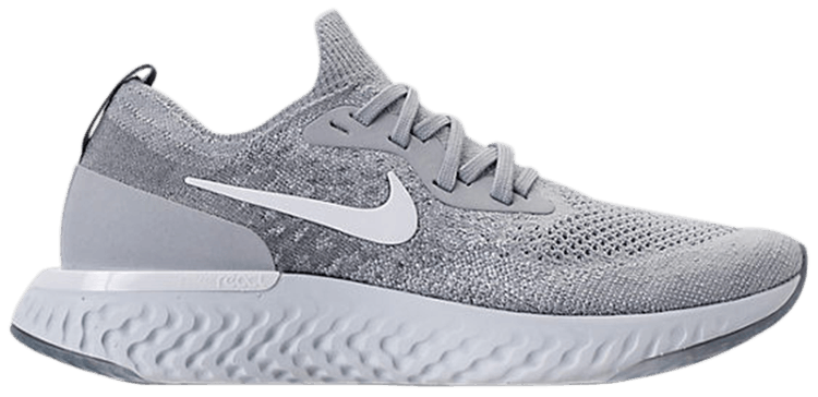 Wmns Epic React Flyknit 'Wolf Grey'. SKU: AQ0070 002
