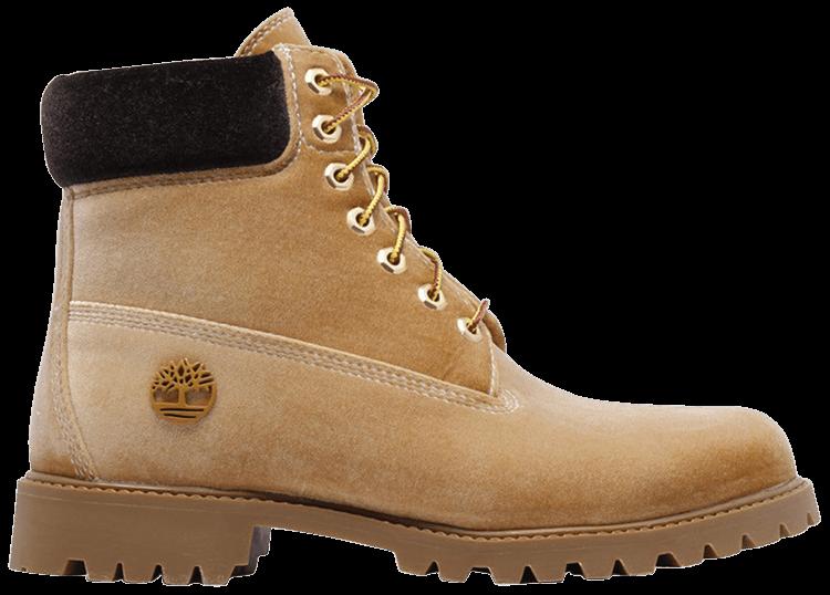 OFF WHITE x 6 Inch Premium Boot 'Wheat'