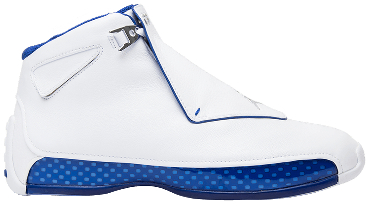 air jordan 18 retro white