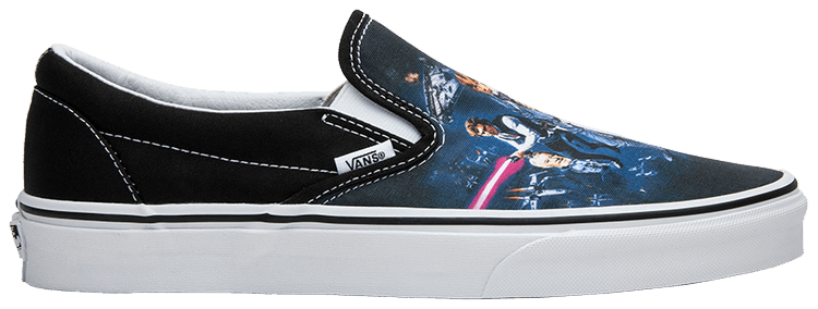 vans slip on star wars