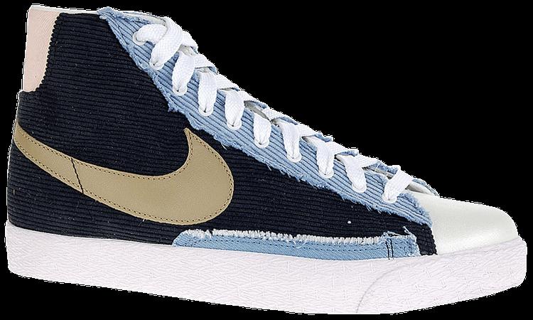 Wmns Blazer Mid 'Khaki Chambray' - Nike - 306499 021 | GOAT