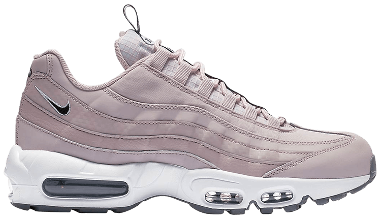 Details about SALE NIKE AIR MAX 95 SE PULL TAB PARTICLE ROSE BLACK WHITE AQ4129 600 NEW PINK