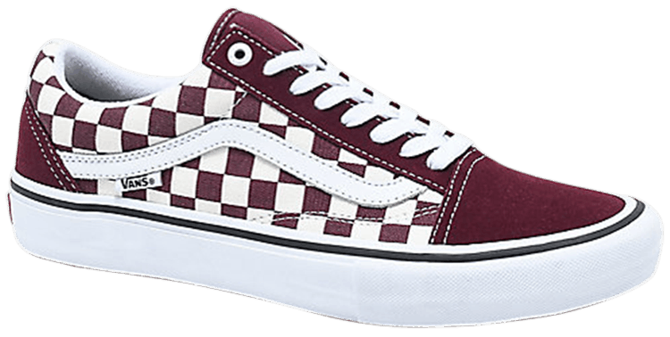 Old Skool 'Port Royal & White Checkered' Vans