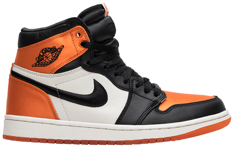 air jordan 1 high satin orange