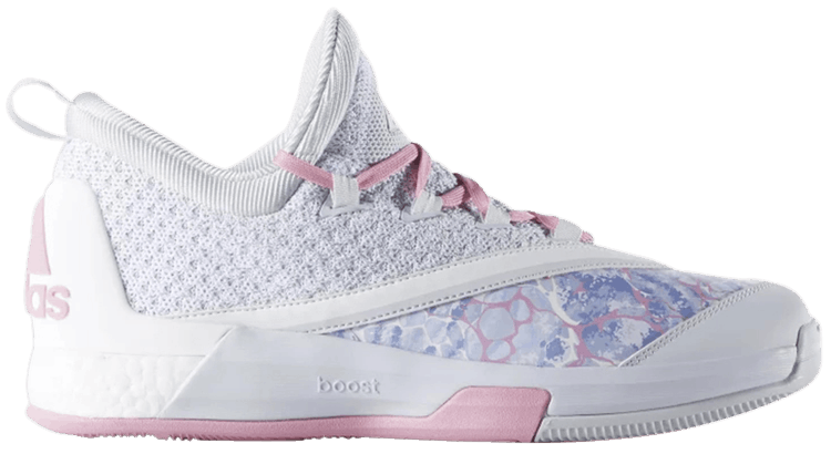 adidas Crazylight Boost 2.5 Low White